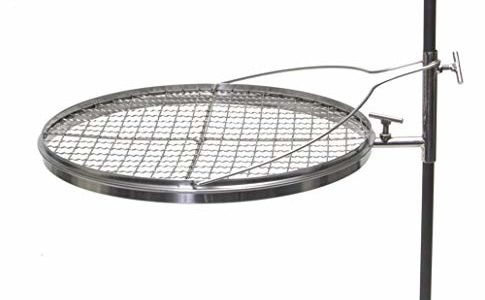 Camerons Products Grilling Grate- Adjustable Camping Grill for Barbecues and Open Fires by Review