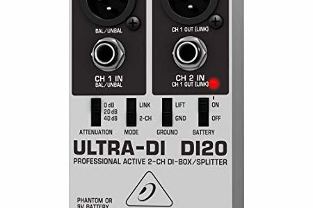 BEHRINGER. ULTRA-DI DI20 (Limited Edition) Review