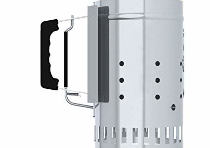 Char-Griller Charcoal Grill Chimney Starter with Quick Release Trigger, 12-Inch Review