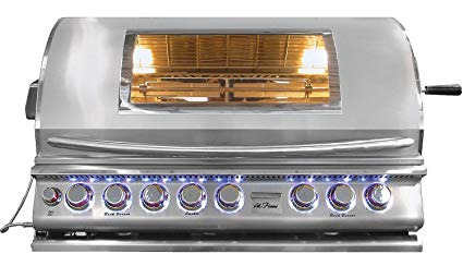 Cal Flame Top Gun 5 Burner Convection Grill Review