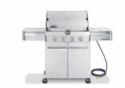Weber 1810001 Summit S-420 Natural Gas Grill, Stainless Steel Review