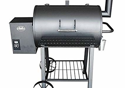 Wood Pellet Grill Smoker Outdoor BBQ Cooker Patio Kitchen Review