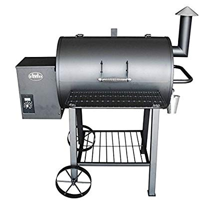 Wood Pellet Grill Smoker Outdoor BBQ Cooker Patio Kitchen