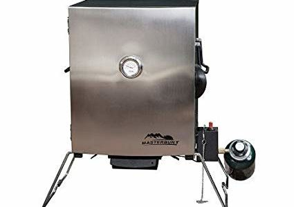 Masterbuilt Compact Outdoor Camping Tailgating Portable Propane BBQ Smoker Grill Review
