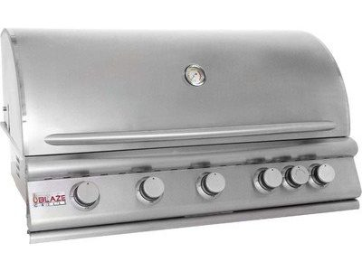 Bundle-92 40″ 5-Burner Built-In Gas Grill with Rear Infrared Burner (5 Pieces) Gas Type: Natural Review
