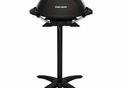 George Foreman 15-Serving Indoor/Outdoor Electric Grill, Black Review