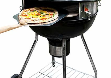 PizzaQue Deluxe Kettle Grill Pizza Kit for 18″ and 22.5″ Kettle Grills PC7001 Review
