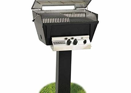 Broilmaster P4-xfn Premium Natural Gas Grill On Black In-ground Post Review