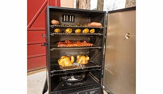 Masterbuilt 40 Inch Outdoor Sportsman Elite Extra Large Gas Barbeque Smokehouse Review
