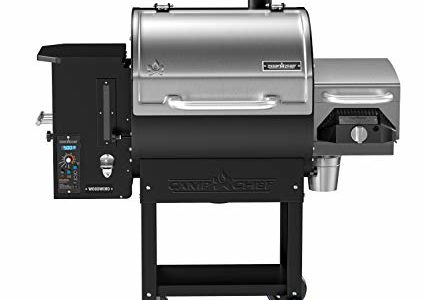Camp Chef Woodwind SG Wood Pellet Smoker and Over-Fire Grill with Sear Box (PG24SGWWSS) – Equipped with Slide and Grill Technology Review