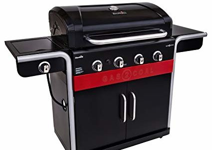 Char-Broil Gas2Coal 4-Burner Liquid Propane and Charcoal Hybrid Grill Review